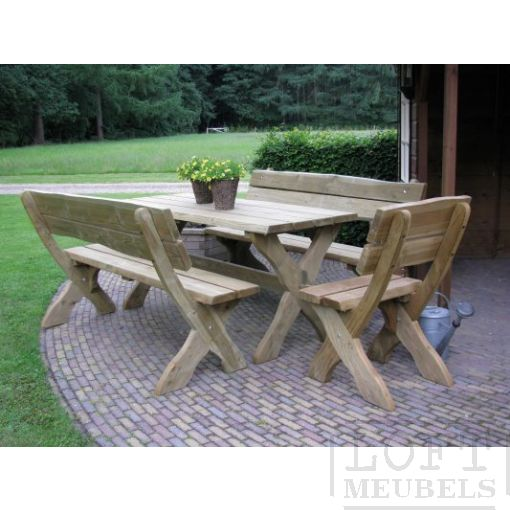 Picknickset LOFT - 2 losse stoelen
